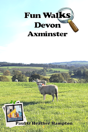 Axminster Walks Book Front Cover